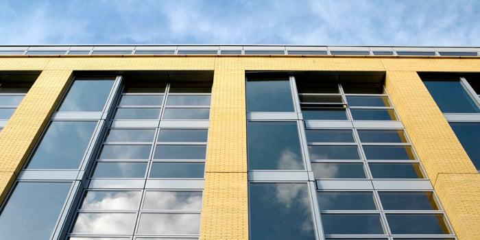 VELFAC curtain walling solution - NHBC compliant