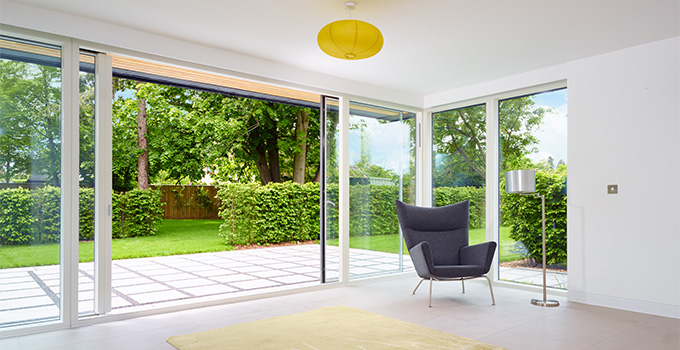 VELFAC sliding door