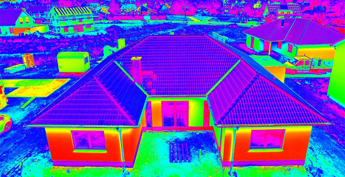 Thermography and thermal efficient windows