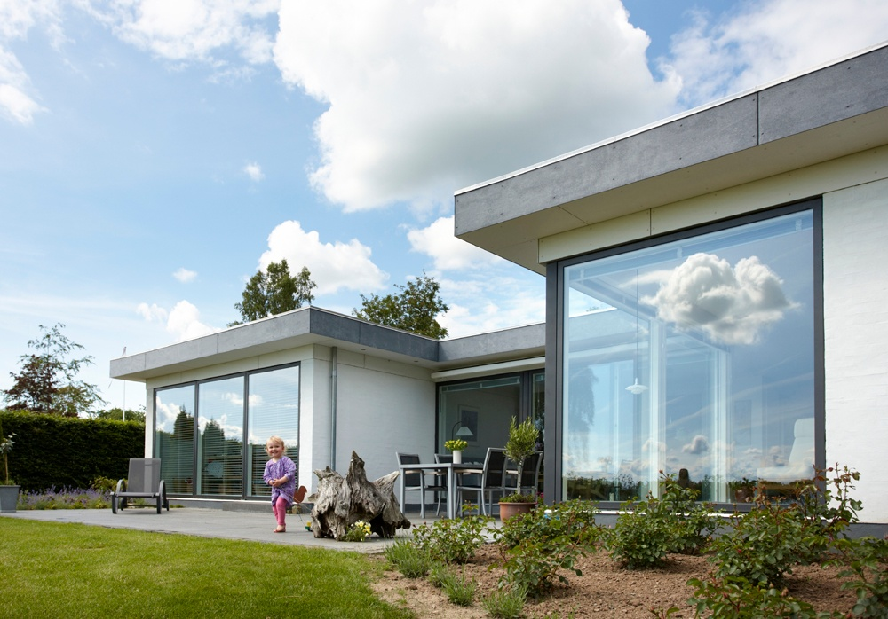 A composite window can offer an operational lifetime of up to 40 years, and both aluminium and timber are also recyclable, improving sustainability.