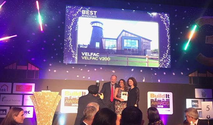 VELFAC - Build It Awards 2019 Winner - Best Windows